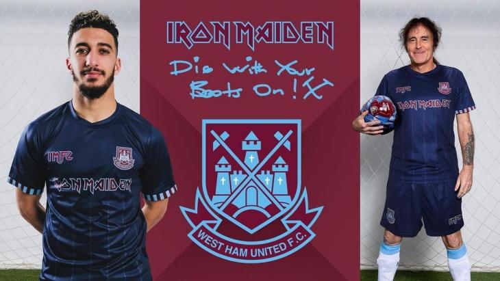 Iron Maiden Kembali Berkolaborasi dengan West Ham United