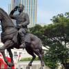 Resmikan Patung Bung Karno, Ini Kata Megawati dan Prabowo