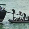 Selama Ada WNI Diobservasi di Pulau Sebaru, Kopaska Terus Patroli Siang-Malam