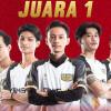 Dewa United Juara ESI DKI Jakarta Esports Series