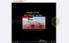 [HOAKS atau FAKTA]: TNI Diberangkatkan ke Palestina untuk Berperang