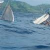 Kapal Pinisi Wartawan Istana Terbalik di Labuan Bajo