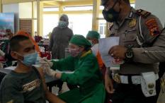 Satlantas Polresta Surakarta Tukar Denda Tilang dengan Suntik Vaksin Gratis