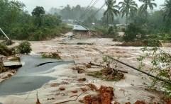 Akibat Banjir Besar Melanda Belitung, Akses Jalan Putus
