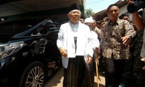 PPP Bantah Ma'ruf Amin Dipinggirkan Saat Bahas Menteri