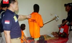 """2 Pembunuh Sadis """"Tragedi Gagang Cangkul"""" Divonis Hukuman Mati"""