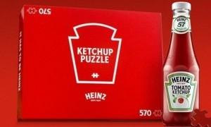 Unik, Puzzle Serba Merah dari Heinz untuk Mengisi Waktu Luang
