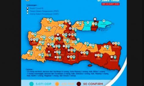 Jalani Karantina Mandiri di Rumah, Pasien Positif COVID-19 Tulungagung Hilang