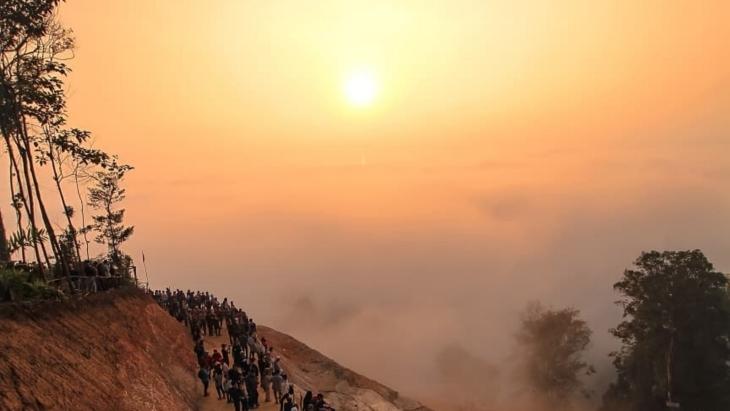 5 Fakta Tentang Gunung Luhur, Negeri di Atas Awan, Banten