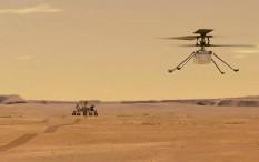Helikopter NASA Berhasil Mengangkasa di Mars