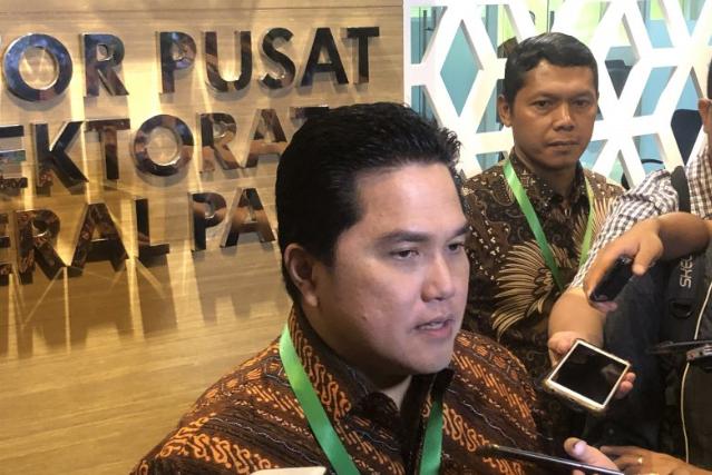 Menteri BUMN Erick Thohir copot dua direktur Asabri