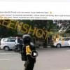 [HOAKS atau FAKTA]: Polisi Bubarkan Aksi Bela Palestina di Solo dengan Umbar Tembakan