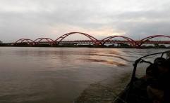 Desain Jembatan Musi IV Cerminan Budaya Sriwijaya
