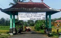 Sejumlah Dusun di Sleman Pilih Lockdown Secara Mandiri