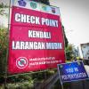 Posko Penyekatan di Kota Bandung Diperpanjang