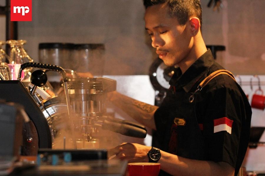 The Iron Samurai Coffee. (MP/Dery Ridwansah)