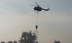 BPBD: Helikopter Lepaskan Tujuh Kali Bom Air