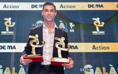 Menang Ini, Cristiano Ronaldo Absen Saat Messi Gondol Ballon d'Or ke-6