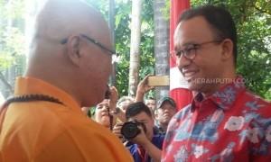 Anies: Waisak Momentum Mempererat Silaturahmi Antarumat Beragama