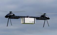 Drone Berkepala Dua, Mampu Angkat Kargo