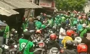 Polisi Kejar Pelaku Bentrokan Antara Ojol dan Mata Elang di Mangga Besar