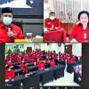 Disuruh Hasto, Megawati Mejeng Saat Pembukaan Sekolah Partai