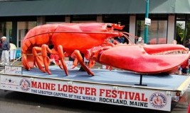 Maine Lobster Festival, Perayaan Makan Lobster Internasional