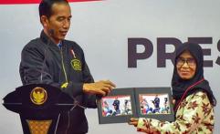 Hoaks Tujuh Kontainer Surat Suara, Begini Reaksi Presiden Jokowi