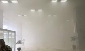 Bantah Ada Kebakaran, Sekjen DPR Berdalih Asap Berasal dari Kabel Aerosol