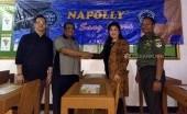 INTI Gandeng Napolly Dukung Kegiatan Belajar Koramil 01/Panmas Depok