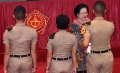 Beri Pembekalan kepada Calon Taruna, Megawati Sebut TNI Benteng Pancasila