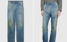 Rilisan Jeans Gucci dengan 'Noda Rumput' Tuai Kontroversi