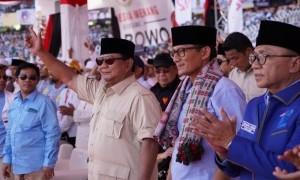 Kampanye di Sidoarjo, Prabowo Perdengarkan Pidato Bung Tomo