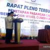 KPU Jambi Tetapkan Haris-Abdullah Sani Jadi Gubernur Jambi Terpilih