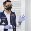 Ridwan Kamil Jalani Penyuntikan Pertama Relawan Vaksin COVID-19