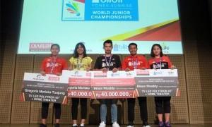 Lima Atlet Junior Diganjar Bonus Puluhan Juta Rupiah