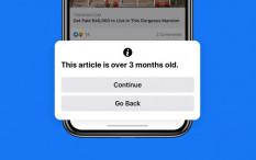 Facebook Peringatkan Pengguna saat Bagikan Berita Lawas