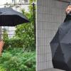 Payung Sekaligus Mantel, Unik dan Praktis di Hari Hujan