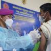 TNI AL Lakukan Serbuan Vaksinasi ke Pesantren di Jawa Barat
