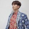 Leeteuk dan Yesung Super Junior Pakai Batik Buatan Jawa Barat