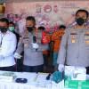 Polisi Gagalkan Peredaran Ribuan Ekstasi Modus Obat COVID-19