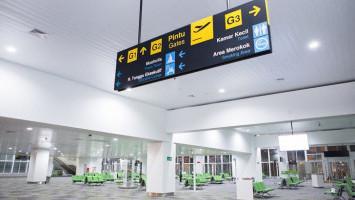 Landasan Pacu Sempat Banjir, Bandara Semarang Kembali Dibuka