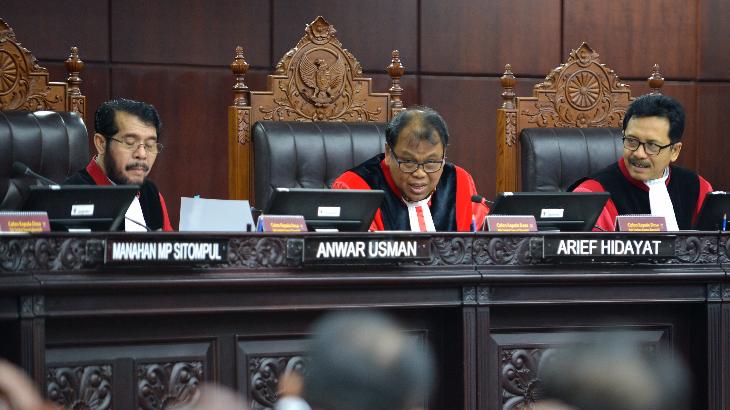 MK Tolak Dalil BPN Prabowo-Sandi soal THR