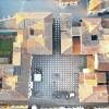 Plaza di Italia Ini Dirancang Sempurna untuk Pemberlakuan Jarak Sosial