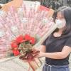 Usaha Buket Uang Pemudi Negeri Aing Laris Manis Selama Pandemi