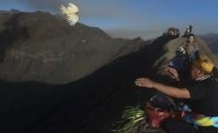 Upacara Yadnya Kasada, Melarung Sesajen ke Kawah Gunung Bromo