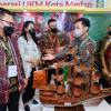 Gibran Bertemu Wali Kota Medan Bobby dan Kahiyang dalam Pameran UKM ISCFE
