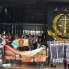 Lakukan Aksi di Depan Kejagung, Mahasiswa Tuntut Kasus Pidana Novel Dilanjutkan