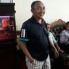 Meski Banjir, Hakim PN Jakarta Pusat ini Tetap Ngantor Gunakan Kolor