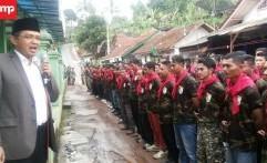 Lereng Cakrabuana Girimukti Jadi Tempat Latihan Banser